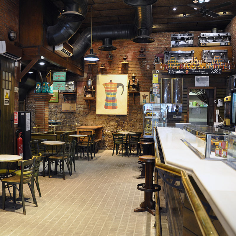 Cafeteries en el centre de Barcelona, Il Caffè di Francesco