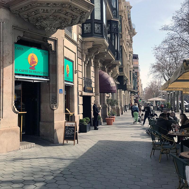 Il caffè di Francesco, en el centro de Barcelona
