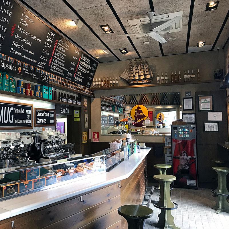 Cafeteries cèntriques a Barcelona, Il caffè di Francesco