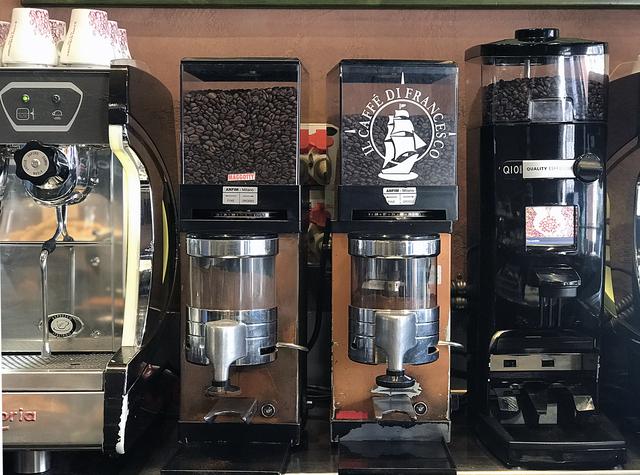 els tres cafès